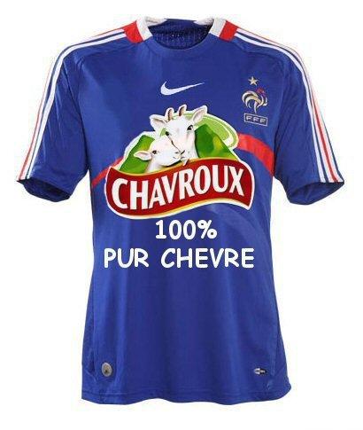 Maillot de l'équipe de France 2010